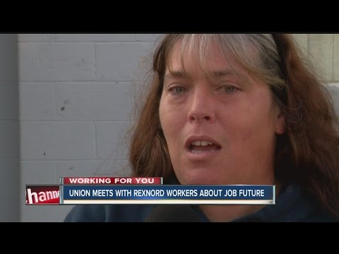 Union meets with Rexnord workers about job future