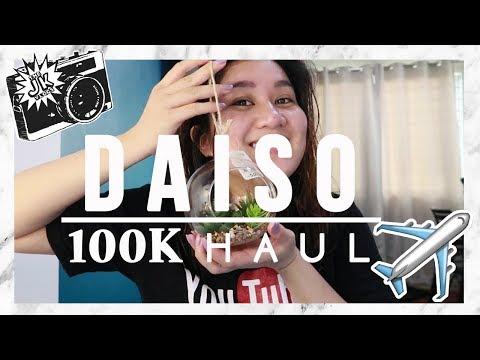 Gumastos ng 100K sa Daiso?!  Waaaahhhhh! ( SUPER BONGGANG DAISO HAUL ) #TheJKVlogs | Kris Lumagui