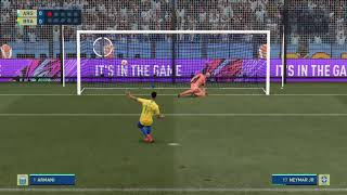 Argentina vs Brazil Penalty Shootout FIFA 21