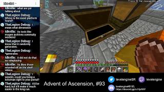 MINECRAFT Livestreams Get All Items ~ Advent of Ascension (#93)