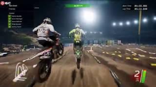 Monster Energy Supercross The Official Videogame / Motocross Racer Games / Gameplay