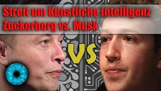 Streit um Künstliche Intelligenz - Zuckerberg vs. Musk - Clixoom Science & Fiction