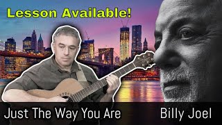 Just the Way You Are, Billy Joel, fingerstyle guitar cover, Jake Reichbart, lesson available!