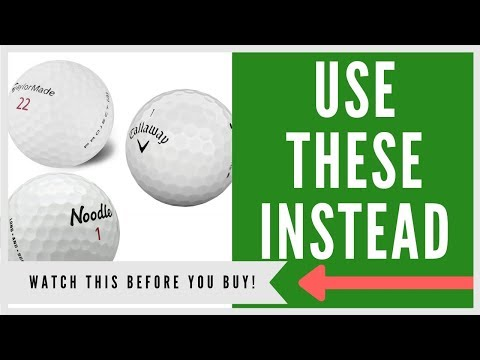 ✅ TOP 7 BEST GOLF BALLS FOR AVERAGE PLAYERS