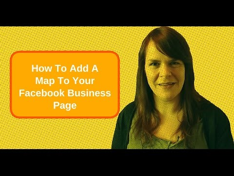 Map Of Ireland On Your Face.How To Add A Map To Your Facebook Business Page Youtube