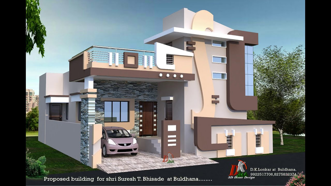 Front Side Staircase Tower House Designs Youtube | House Design With Stairs In Front | Village | Front Yard Stair | Unique | Elevated | Wood