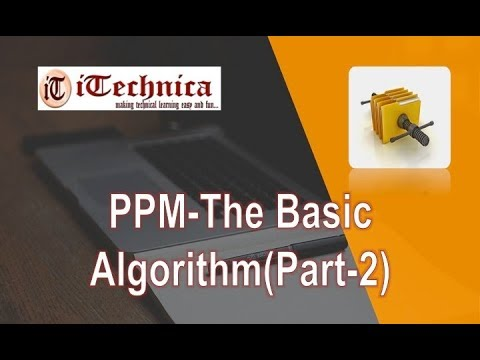 29. PPM - The Basic Algorithm with example/ Part-2