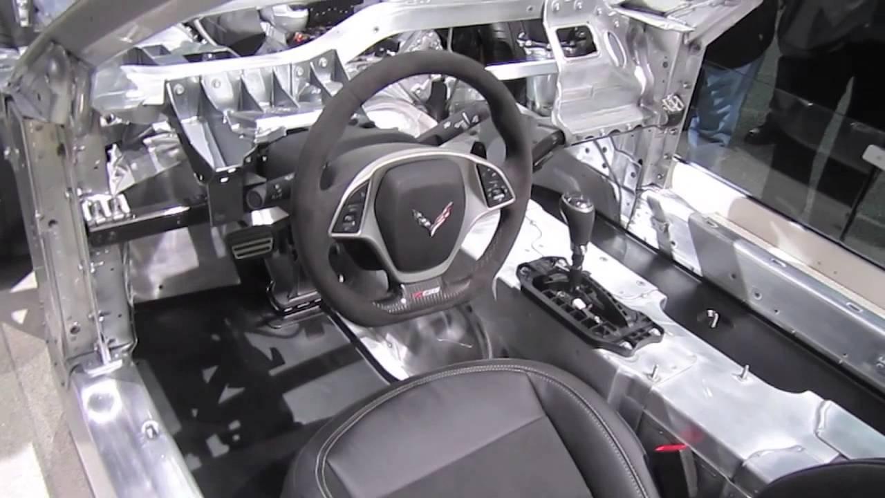 2014 Chevrolet Corvette (C7) Aluminum Frame First Look ...
