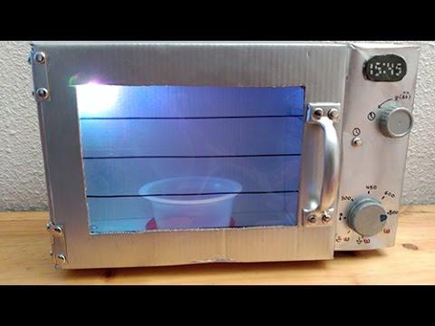 Manualidades microondas de juguete para ni os youtube - Materiales para hacer un horno de lena ...