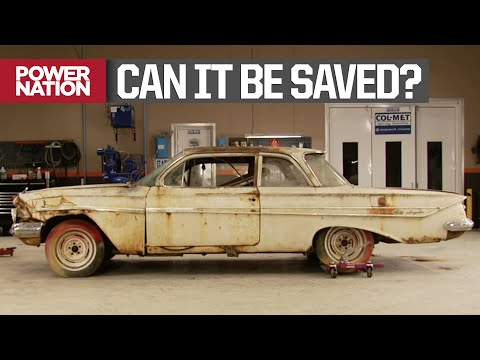 Tearing Apart A '61 Chevy Impala Before Giving It A New Personality - MuscleCar S3, E8