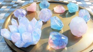宝石石鹸💎 作り方✨ DIY✨ 簡単手作り✨ 夏休みの自由研究・工作におすすめ🌞✨ How to make a gem soap✨