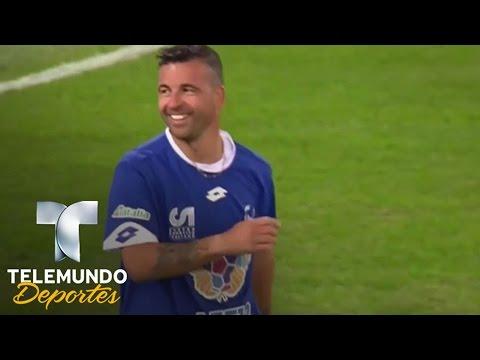 Gol de Antonio Di Natale | Unidos Por La Paz | Telemundo Deportes