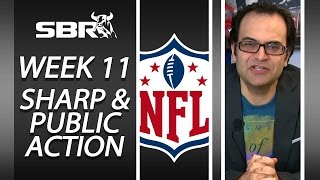 NFL Week 11 Betting Action: Into The Weekend w/ BetDSI