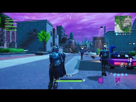 Fortnite bunny hop in tilted towers