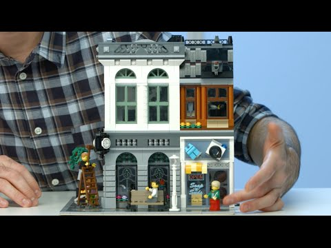 Brick Bank - LEGO Creator - 10251 - Designer Video