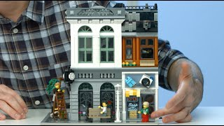 Brick Bank - LEGO Creator - 10251 - Designer Video