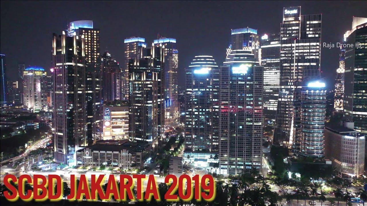 Scbd Jakarta 2019 Video Udara Malam Hari Jakarta Drone Footage By Raja Drone Id Youtube