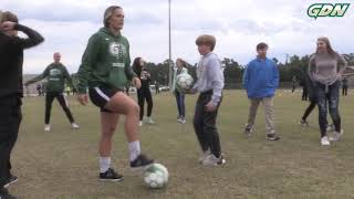 Inside GGC Athletics: Grizzlies Soccer scores on community service