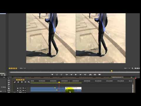 Edit AVCHD-3d to SBS in Premiere CC for youtube