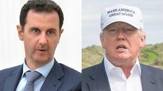 Trump on Syria: 'Something should happen'