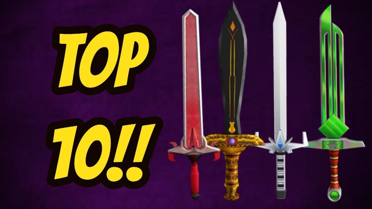 Top 10 Exotics Updated Roblox Assassin Youtube
