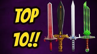 TOP 10 EXOTICS!!! [UPDATED] (ROBLOX ASSASSIN)