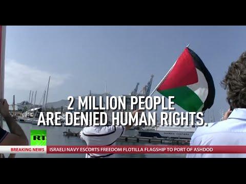 IDF intercepts Gaza flotilla flagship, RT columnist aboard