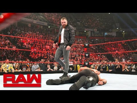 Dean Ambrose attacks Seth Rollins after crushing loss: Raw, Nov. 5, 2018