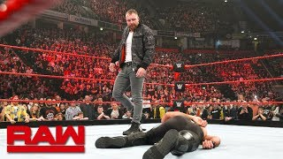 Dean Ambrose attacks Seth Rollins after crushing loss: Raw, Nov. 5, 2018