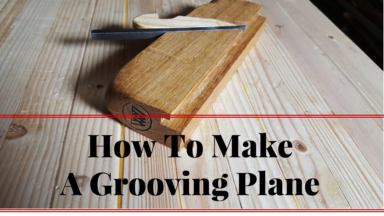 hur man köper bästa erbjudanden på Storbritannien How to Make A Grooving Plane for Tong and Groove set - YouTube