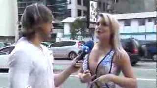 tv fama Thaiz Schmitt quer leiloar piercing genital 15 01 2014 mircmirc
