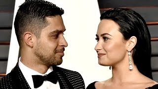 Demi Lovato Receives Visits From Ex Wilmer Valderrama in Rehab