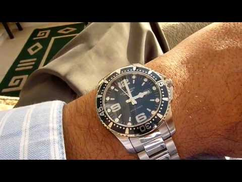 d576a219d4c Longines Hydroconquest Video Review - YouTube