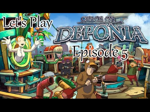 Let's Play Chaos On Deponia - Episode 5