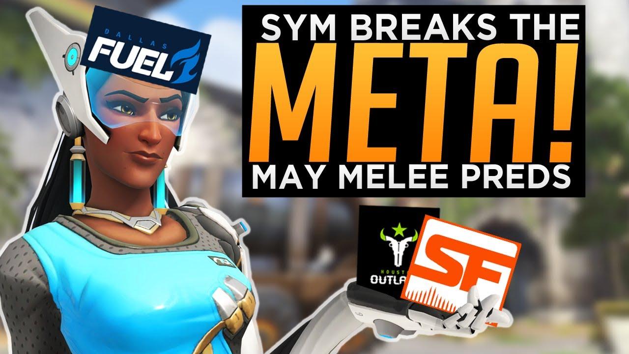 Symmetra Mei Rush Breaks the Meta!  - May Melee Tournament Predictions