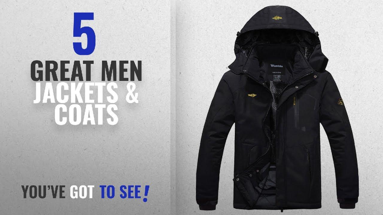 055a36b18da Top 10 Mens Jackets   Coats   Winter 2018    Wantdo Men s Waterproof  Mountain Jacket Fleece