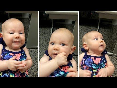 Annesinin Sesini İlk Kez Duyan Bebeğin Tepkisi! (Deaf Baby Hears Mothers Voice For First Time!)
