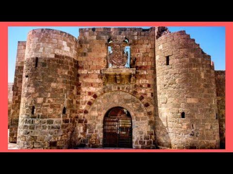 AQABA: The historic AQABA FORT, JORDAN