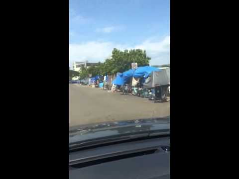 Homeless Camps in Honolulu