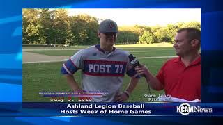 Ashland Legion Baseball Recap 7/9-7/13