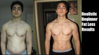 Beginner Fat Loss Transformation: Here Is A REALISTIC Example