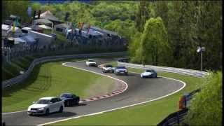 GT5 Shuffle - Nürburgring V-Typ - Shelby Series 1 VS TVR´s & others