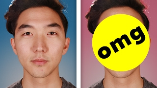 Koreans Get Photoshopped With Double Eyelids