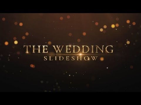 Wedding Intro  Romantic Slideshow  Wedding Trailer  After Effects Template - YouTube