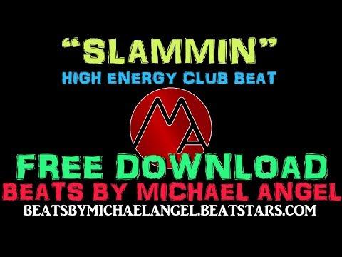 SLAMMIN Energetic Hip Hop Beat Instrumental - Club type beat by Michael Angel - FREE DOWNLOAD