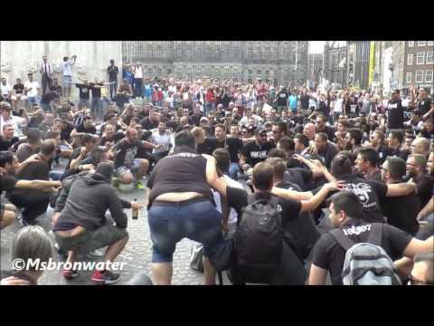 PAOK Saloniki  supporter @ The Dam Square Amsterdam