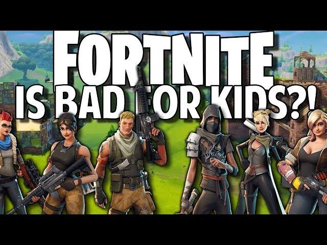 Is Fortnite Bad for Kids?!
