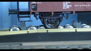Spur-G-Blog: Rollgrube, Rollböcke und Regelspurwagen von Boerman