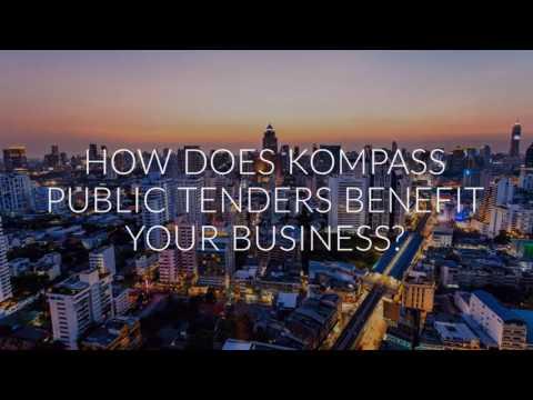 KOMPASS PUBLIC TENDERS - 50,000 TENDERS PER DAY