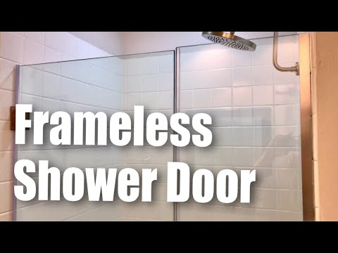 Dreamline Unidoor Plus Frameless Hinged Gl Shower Door Brushed Nickel Finish Review
